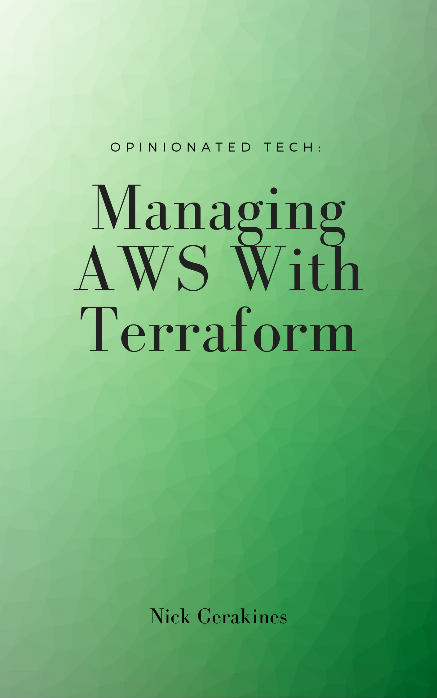 Managing AWS With Terraform Cover